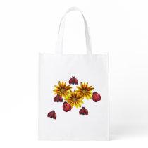 Ladybug Party Grocery Bag