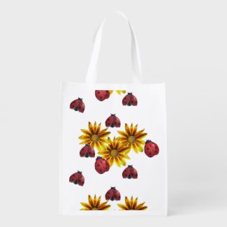 Ladybug Party Totes Personalized