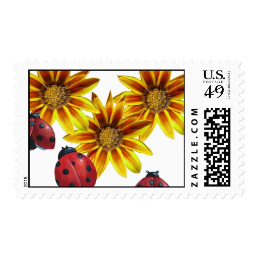 Ladybug Party Postage Stamps