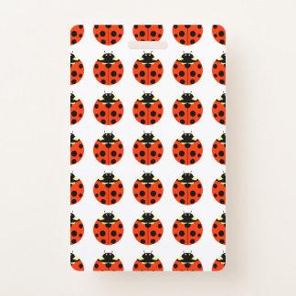 Ladybug Pattern Badge