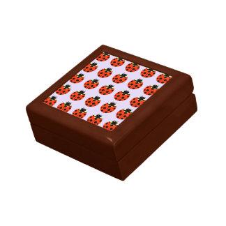 ladybug pattern keepsake box