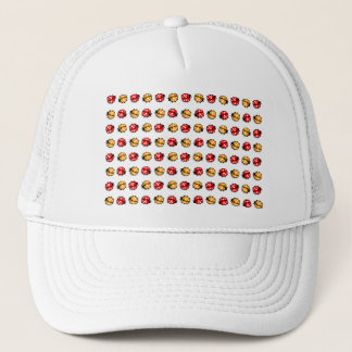 LADYbug pattern Trucker Hat