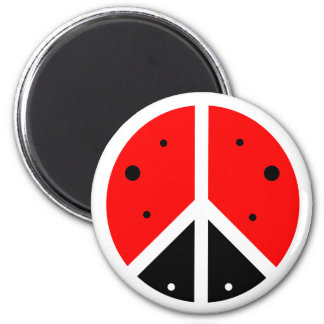 Ladybug Peace Magnet