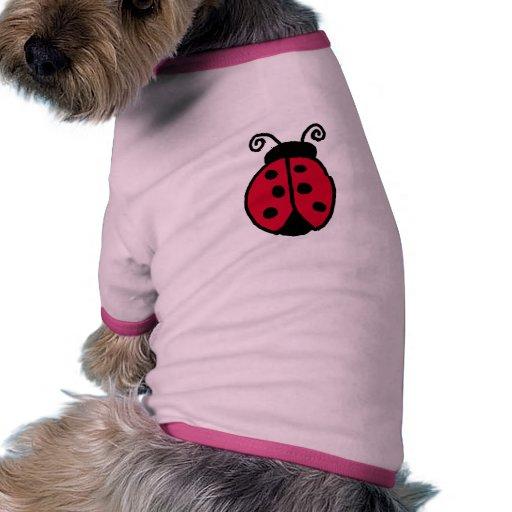 ladybug pet tshirt