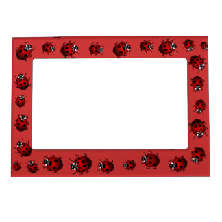 Ladybug Picture Frame Ladybird Art Frame Magnetic Frame