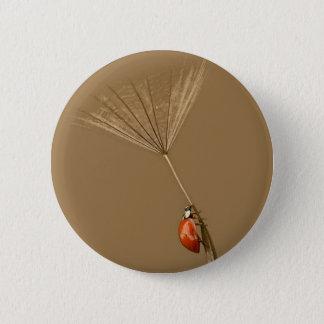 Ladybug Pinback Button