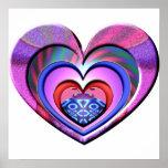LadyBug Pink Heart Print