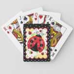 "Ladybug Playing Cards<br><div class=""desc"">Cute ladybugs and dots.</div>"