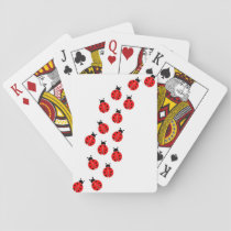 ladybug playing cards