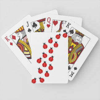 ladybug playing cards