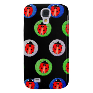 Ladybug Polka Dot - iPhone 3g Cases Galaxy S4 Covers