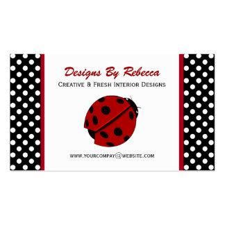 Ladybug & Polka Dots Business Cards