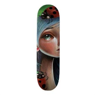 Ladybug Pop Surrealism Illustration Art Skateboard