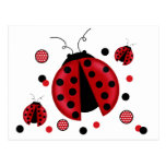 Ladybug postcards
