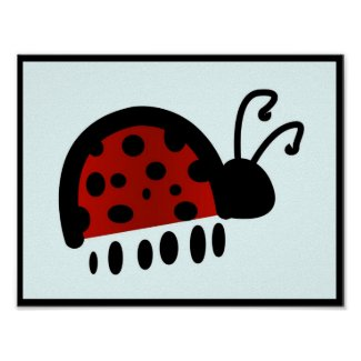 Ladybug print