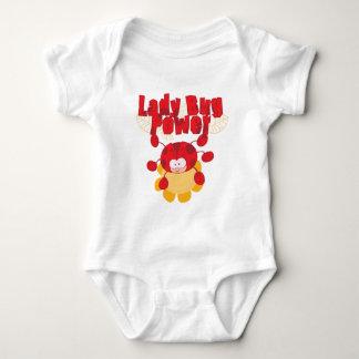 Ladybug Power Infant Creeper