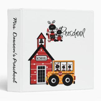 Ladybug Preschool  Binder