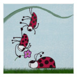 Ladybug Professing His Love Print
