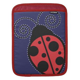 Ladybug Rickshaw Sleeve Sleeves For iPads