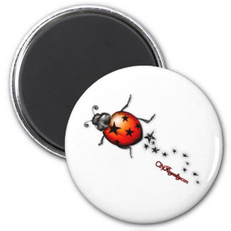 Ladybug Rockstar Magnet