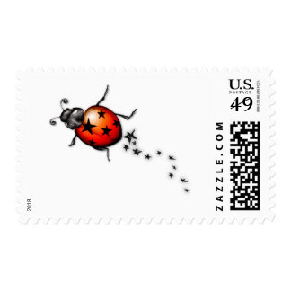 Ladybug Rockstar Stamps