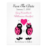 Ladybug Save the Date Announcements (<em>$1.95</em>)