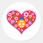 ladybug screen.ai round sticker