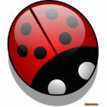Ladybug Sculpture Cut Out