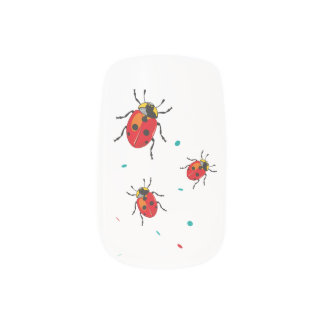LadyBug Serie - Nail Art