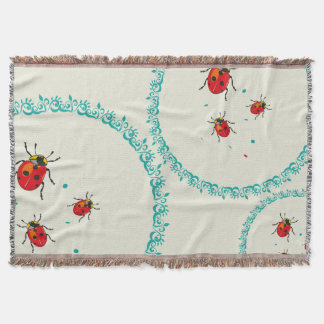 LadyBug Serie - Throw Blanket