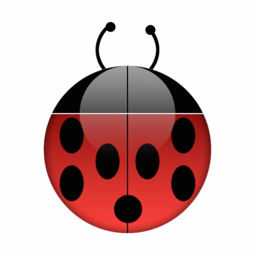 Ladybug Series 1 Photo Sculpture | Zazzle