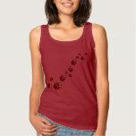 Ladybug Shirts Lady's Tank Top Ladybug Shirt