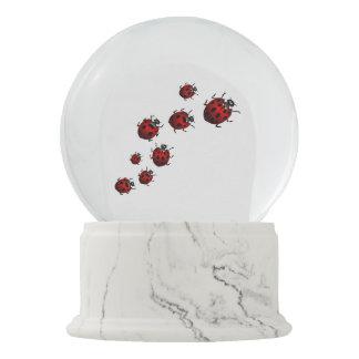 Ladybug Snow Globe Personalized Ladybug Snow Globe