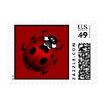 Ladybug Stamps Red Ladybug Ladybird Postage Stamp