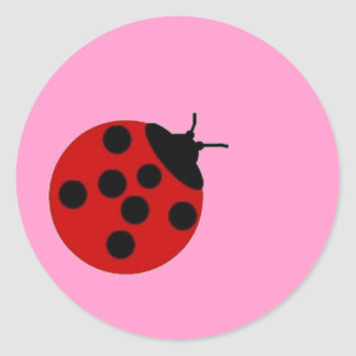 Ladybug Sticker