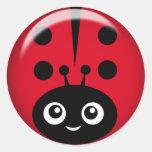 ladybug sticker sheet