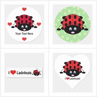 Ladybug Stickers & Decals