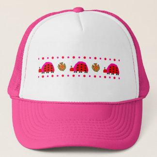 Ladybug Stripe Hat