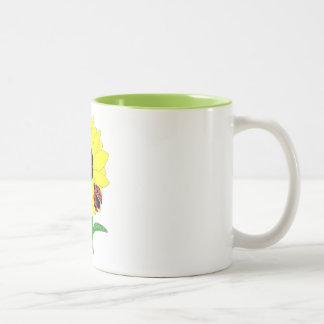 LadyBug & Sunflower Coffee Mugs