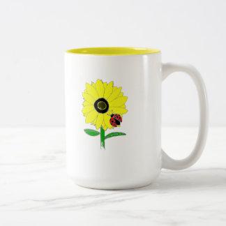 LadyBug & Sunflower Mugs