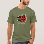 Hand shaped Ladybug t-shirt