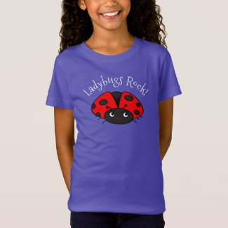 Ladybug T-shirts | Gifts for Girls