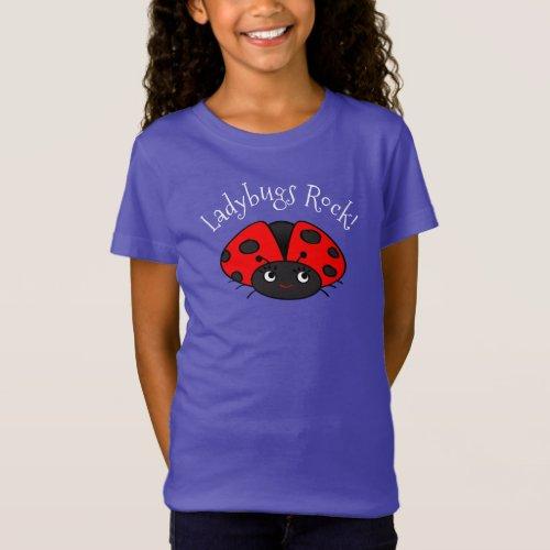 Ladybug T_shirts  Gifts for Girls