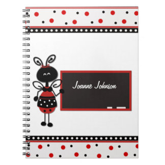 Ladybug Teacher Notebook