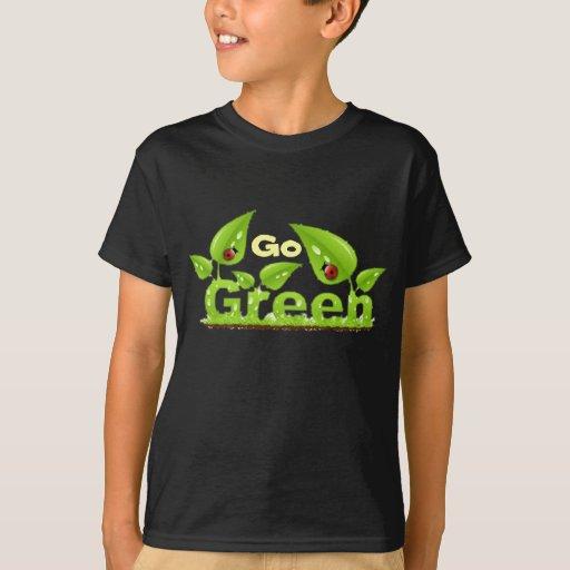 Ladybug Think Green T-Shirt