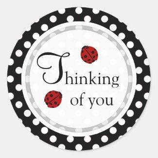 Ladybug: Thinking Of You Stickers