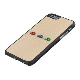 Ladybug three carved® maple iPhone 6 case