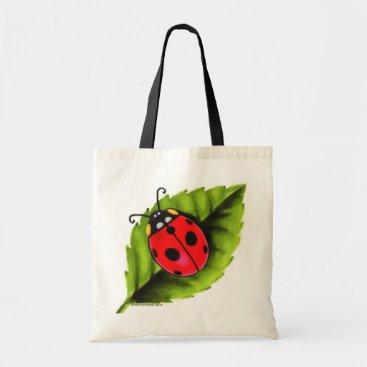 SophiaArt Ladybug Tote Bag