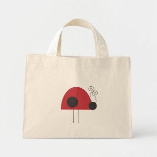 Ladybug Tote Canvas Bags