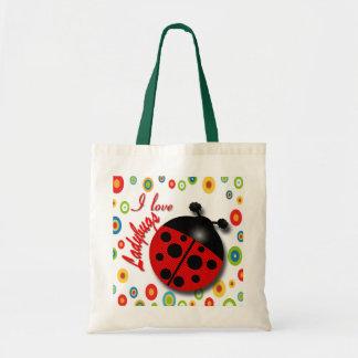 Ladybug Tote Budget Tote Bag
